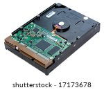 the image of a hard disk with a ...   Shutterstock . vector #17173678