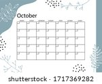 October Planner  Monthly...