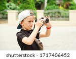 Boy With A Digital Camera...