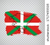 flag of  basque country brush...