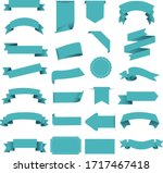 tag and ribbon isolated white... | Shutterstock .eps vector #1717467418