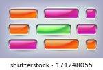 button vector   Shutterstock .eps vector #171748055