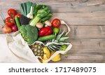 Fresh Vegetables Fruits In...
