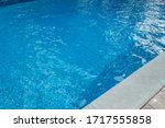blue gound pool with wavy...   Shutterstock . vector #1717555858