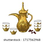 Traditional Arabic Coffee Pot...