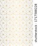 vector seamless geometric... | Shutterstock .eps vector #1717588228