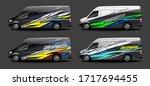 set of car graphic vector.... | Shutterstock .eps vector #1717694455