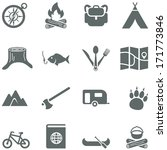 Set Of Vector Icons For Touris...