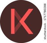 kava token coin logo vector icon | Shutterstock .eps vector #1717780288