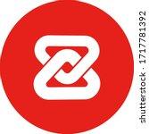 zb token token coin logo vector ... | Shutterstock .eps vector #1717781392