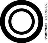 yap stone token coin logo... | Shutterstock .eps vector #1717787272