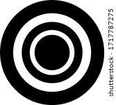 yap stone token coin logo... | Shutterstock .eps vector #1717787275