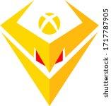 botxcoin token coin logo vector ... | Shutterstock .eps vector #1717787905