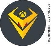 botxcoin token coin logo vector ... | Shutterstock .eps vector #1717787908