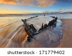 Sunbeam  Wreck At The Rossbeig...