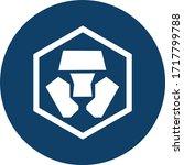 Crypto.com Token Coin Logo...