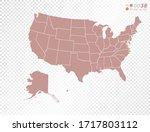 transparent vector map of... | Shutterstock .eps vector #1717803112