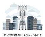 5g Mast Base Station In Smart...