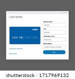 add bank card banner template....