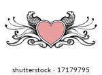 heart sketch | Shutterstock .eps vector #17179795