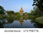 sanphet prasat palace  ancient... | Shutterstock . vector #171798776