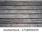 Weathered Wooden Planks Of...