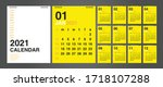 Calendar 2021  Set Desk...