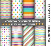 pattern and seamless of set for ...