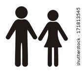 Black Vector Man And Woman...