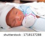 The Sleeping Cute New Born Baby ...