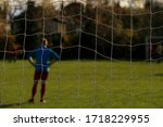 A View Of An Amateur Football...
