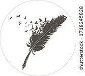 Feather Logo Design Template...