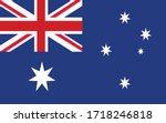 australia flag vector graphic.... | Shutterstock .eps vector #1718246818