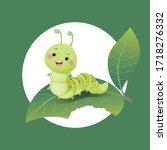 vector illustration cute... | Shutterstock .eps vector #1718276332