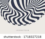 black and white abstract... | Shutterstock .eps vector #1718327218