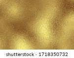 gold metallic effect foil.... | Shutterstock .eps vector #1718350732