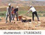 Siirt  Turkey   2014  Workers...