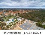 aerial view of Morley district of Perth, Western Australia, Australia