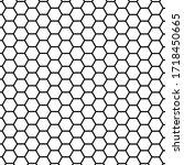 Black Hexagon Honeycomb Pattern ...