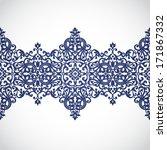 vector baroque border in...   Shutterstock .eps vector #171867332