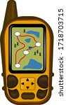 gps navigators and navigation...   Shutterstock .eps vector #1718703715