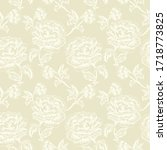 seamless floral pattern in... | Shutterstock .eps vector #1718773825