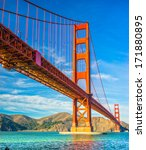 golden gate  san francisco ... | Shutterstock . vector #171880895