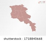 transparent vector map of... | Shutterstock .eps vector #1718840668