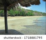 Beach Mayotte Island. Jungle ...
