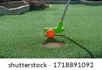 Green Mini Golf Putter Ready To ...