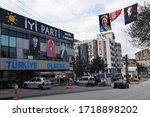 ankara turkey 04 01 2020 a... | Shutterstock . vector #1718898202