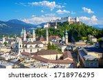 Salzburg City  Austria  View Of ...