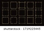 golden frames  victorian... | Shutterstock .eps vector #1719225445