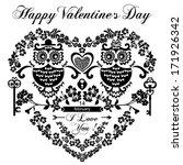 valentine's day vintage...   Shutterstock .eps vector #171926342